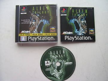 Alien Trilogy  PS1 / 2  RARE